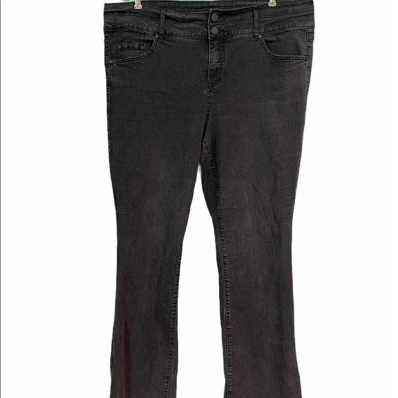 Torrid Black High Waist Bootcut Jeans 22 Tall